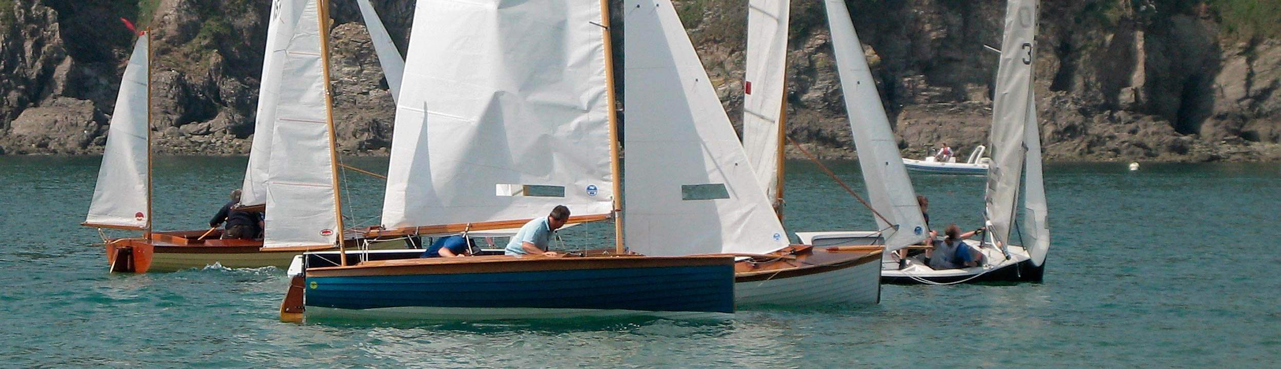 Salcombe yawls racing